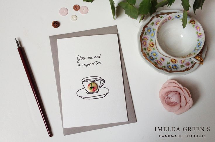 """Is there anything more comforting then a cuppa tea? The Brits know this so well, I wonder, whether """"Would you like a cuppa?"""" is the most repeated sentence in British history? If """"…"""