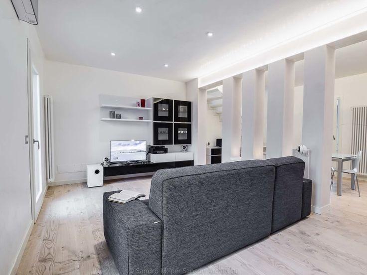 Foto di soggiorno in stile in stile minimalista : sanson architetti | homify