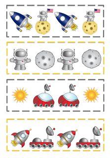 Imprimibles Preescolar: Espacio