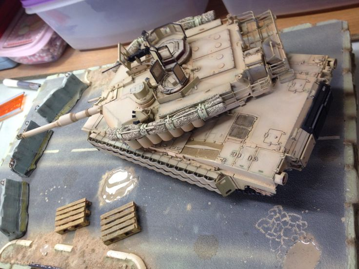M1A2 ABRAMS SEP TUSK II 1/35 MENG