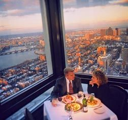 Amazing U.S. Sights You Should Visit Before You Die Top of the Hub Restaurant Prudential Center Boston, Ma