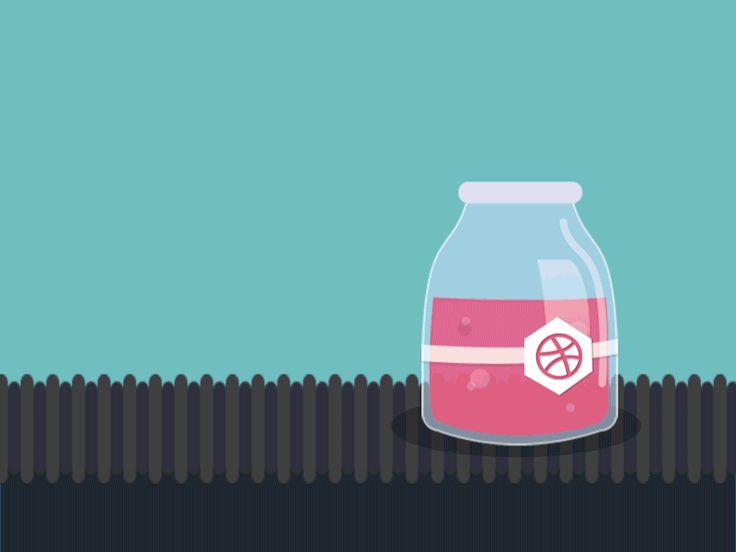 Factory jars animation 4