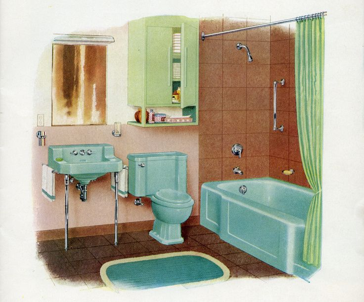 The Bold Look Of In 2019 Bathroom Vintage Bathrooms