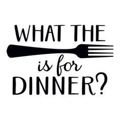 Silhouette Design Store: what the fork is for dinner?