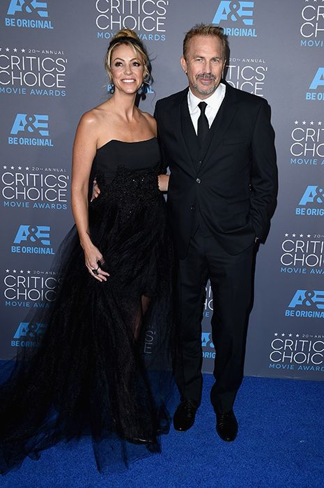 Hollywood couples at the Critics' Choice Awards 2015: Kevin Costner and Christine Baumgartner