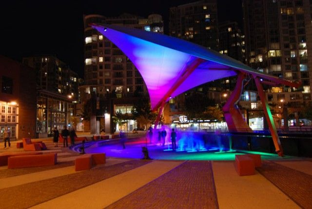 Roundhouse Turntable Plaza   Roundhouse Community Arts & Recreation Centre