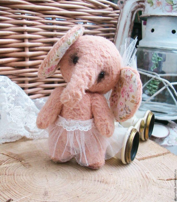 Купить Слонишка Тедди. Люся балерина. - мишки тедди, тедди, тедди слоник, тедди в подарок
