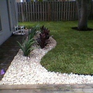 1000 images about melbourne landscape design landscape for Installing river rock landscaping
