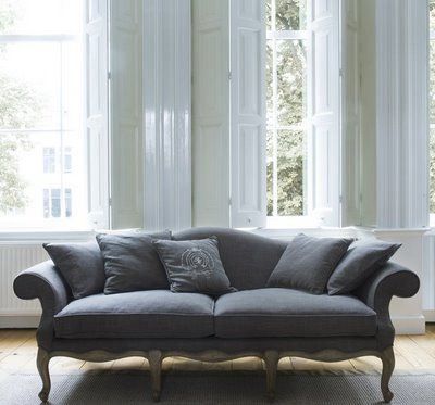 queen anne sofa for the living room upholstery makeover inspiration