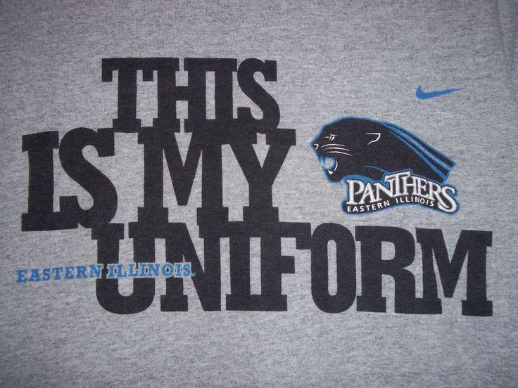 Eastern Illinois T-Shirt Panthers Nike Gray Small #Nike #ShortSleeve