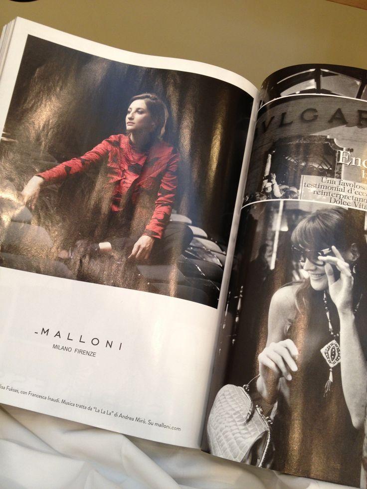 La foto definitiva pubblicata su Vogue.