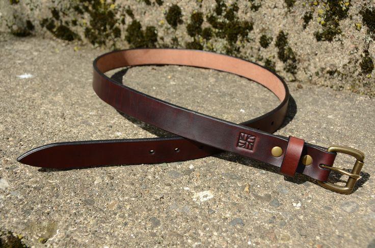 Leather Belt Process
