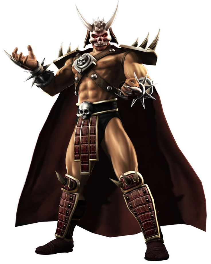 Shao Kahn is a boss, announcer, and recurring playable ...