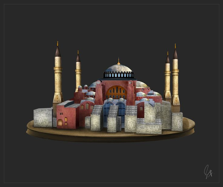 Hagia Sophia by Saniya Aslam