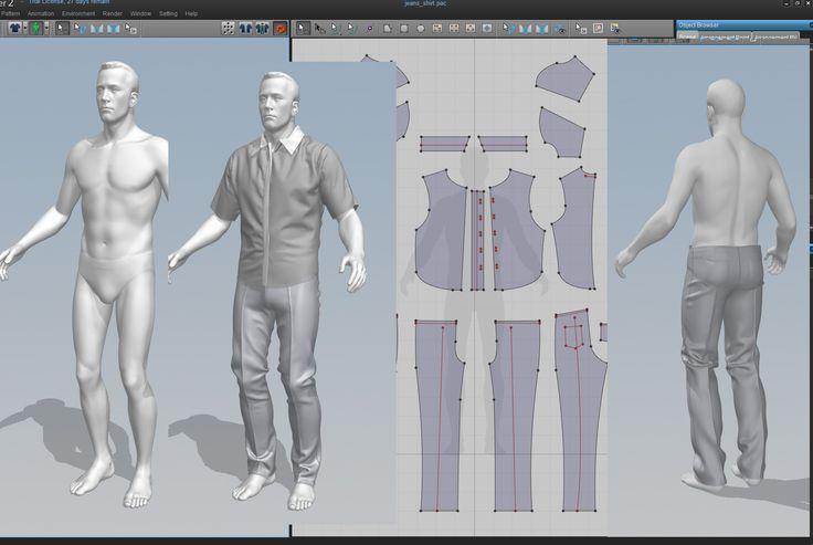 Marvelous Designer brings real pattern making technique and 3d software together