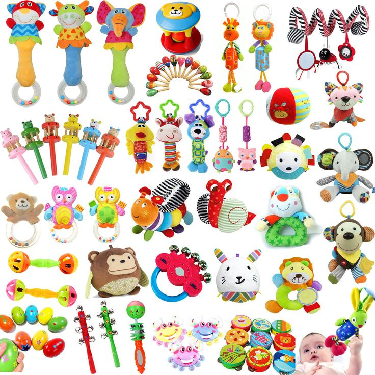 30styles Baby Kids Pram Stroller Handbell/Soft Toy Hand Shaking Bell Rattle NEW