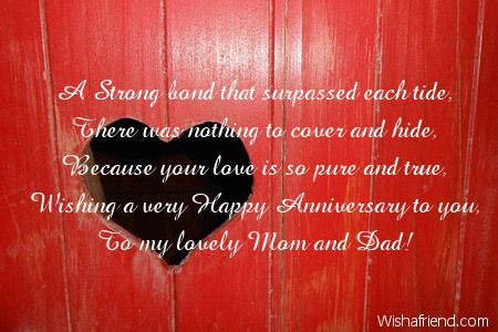 Image result for happy anniversary to my parents