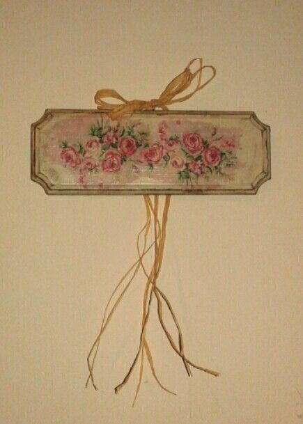 Wall decor romantique!!
