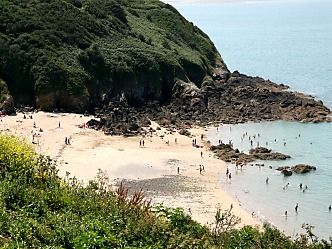 Fresnaye beach, 500m from the campsite