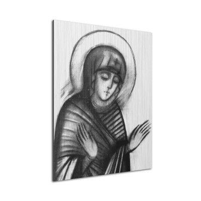 Icono 'Virgen Orante' (Aluminio)