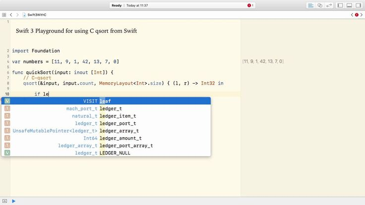 How to use C in Swift 3
