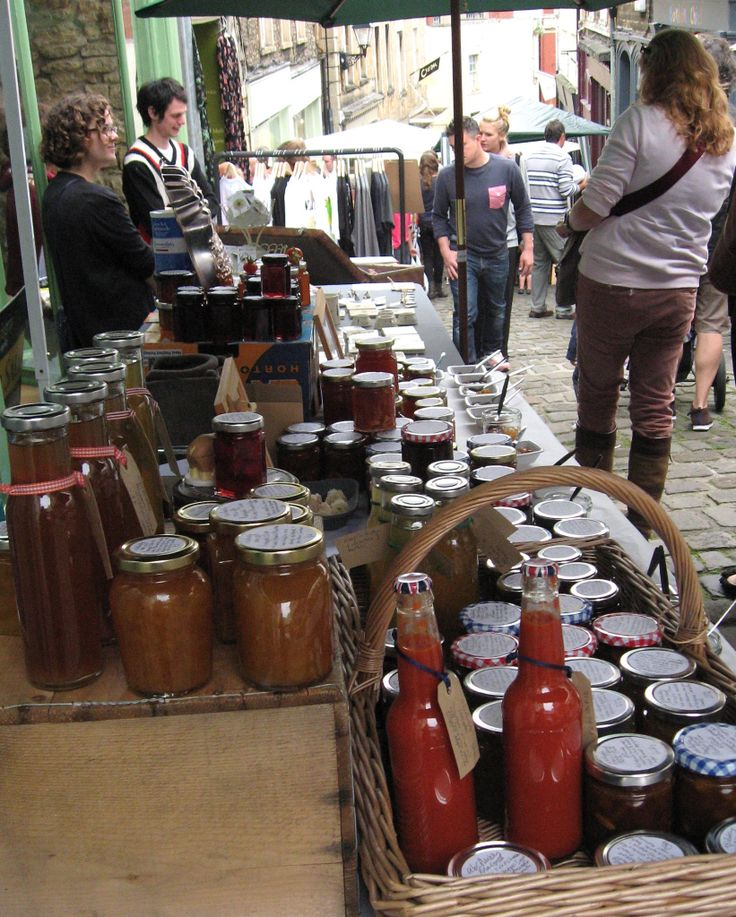 Frome Artisan Market..  #Frome #Somerset #England #UK  Absolutely Preserves On Show..
