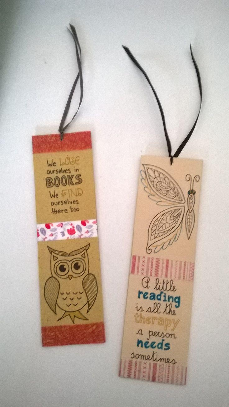 Segnalibri fatti a mano - Handmade bookmarks