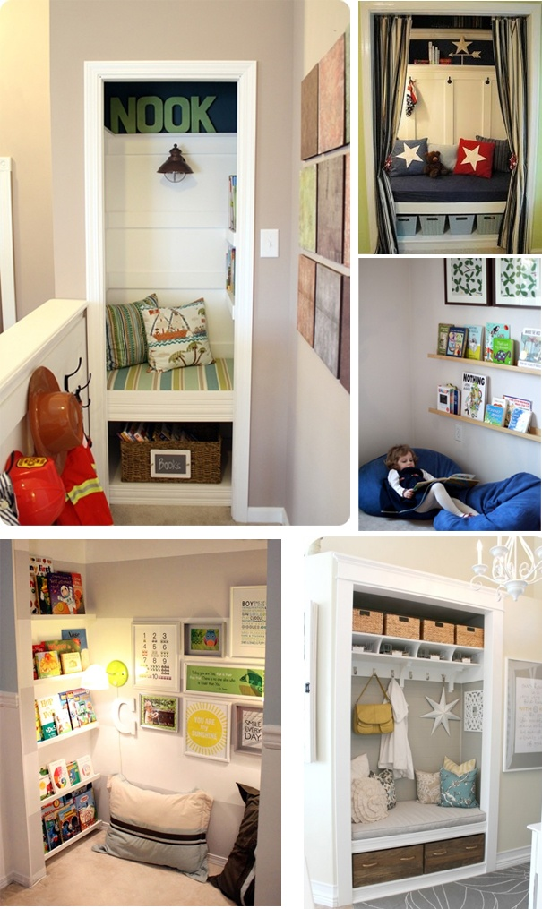 Great ideas for normally wasted space!