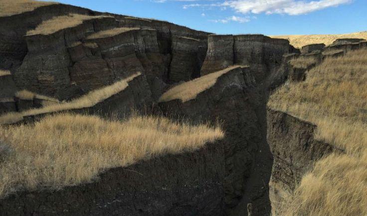 Планета Земля и Человек: Северная Америка начала раскалываться недалеко от Йеллоустоуна
