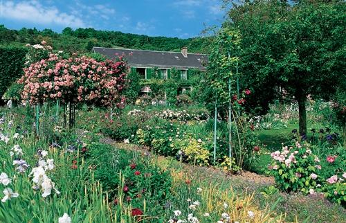 La maison de Monet in Giverny, France.