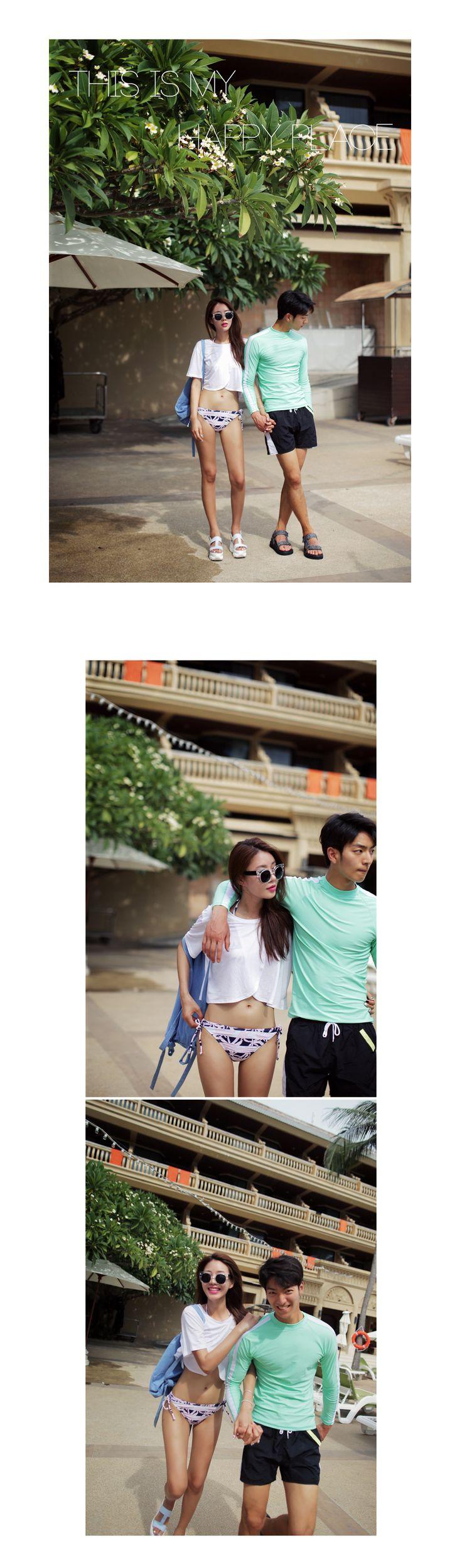 モノトーンスリットTシャツ・全2色トップス・カットソーカットソー・Tシャツ レディースファッション通販 DHOLICディーホリック [ファストファッション 水着 ワンピース]
