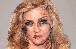 Angelina Jolie y Madonna protagonizan impactante campaña en contra de la violencia doméstica   Maquillaje