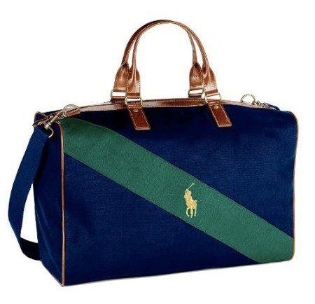 Amazon Com Polo Ralph Lauren Weekender Duffle Bag Beauty