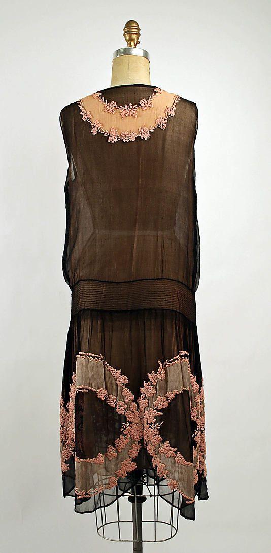 Dress Date: 1926 Culture: French Medium: silk.