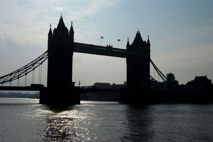 #london #silhouette #tower bridge