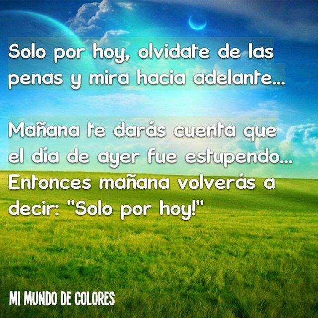 #soloporhoy #mimundodecolores by decoloresmimundo