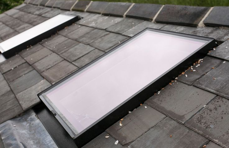 Bespoke Conservation Rooflights with no glazing bar