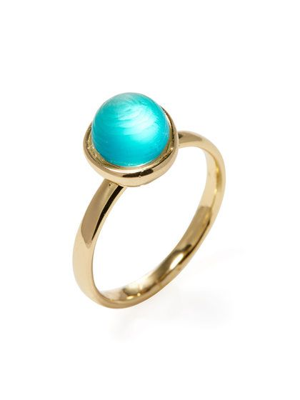 Mini Sphere Ring by Alexis Bittar at Gilt