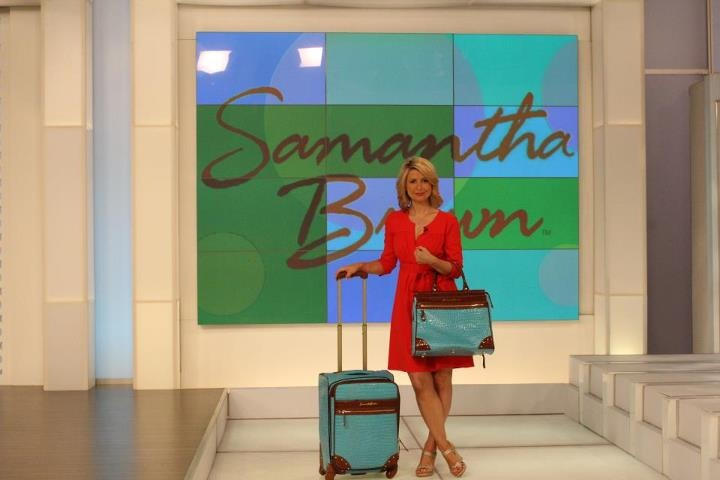 Samantha Brown Luggage Qvc: 103 Best Samantha Brown--Queen Of Travel Images On