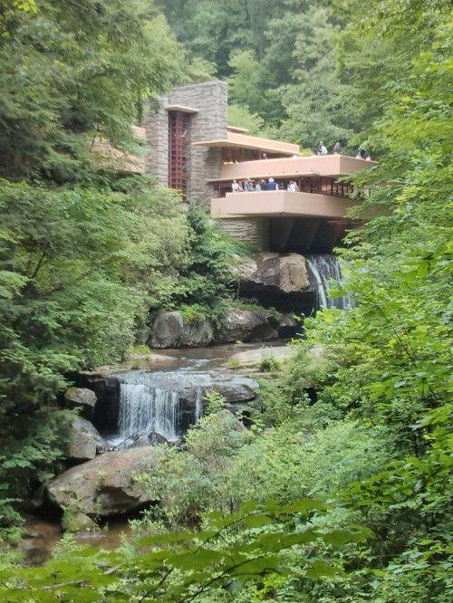 1000 ideias sobre casa da cascata no pinterest for Frank lloyd wright casa della prateria