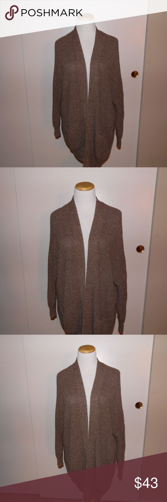 Urban Outfitters Brown Cardigan In great condition Urban Outfitters BDG Brown Cardigan. Urban Outfitters Sweaters Cardigans