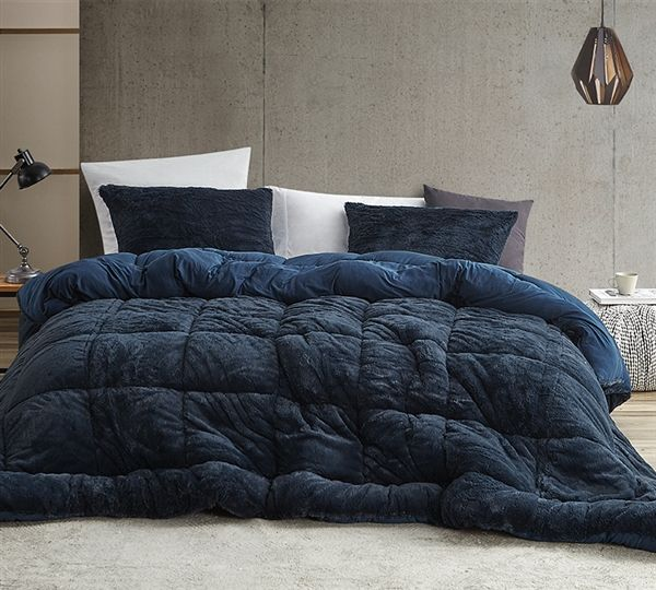 Are You Kidding Bare Coma Inducer Oversized Comforter Nightfall Navy In 2020 Comforters Twin Xl Comforter Comforter Sets