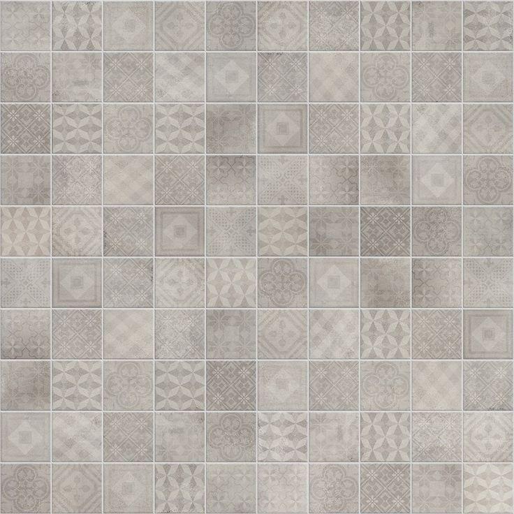 Betonsquare White Grey 10x10 dekormiks