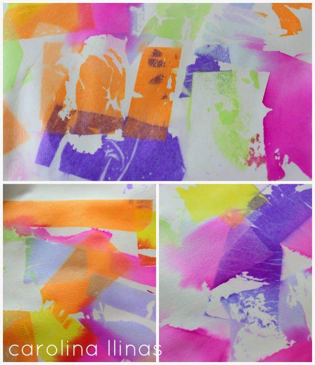 Arte con papel seda | #Artividades