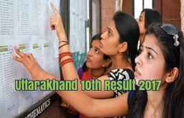 Uttarakhand 10th Result 2017, uaresults.nic.in. UK Board 10th Class Result Date, Check UBSE High School Exam Results, UK Board Tenth Class Results