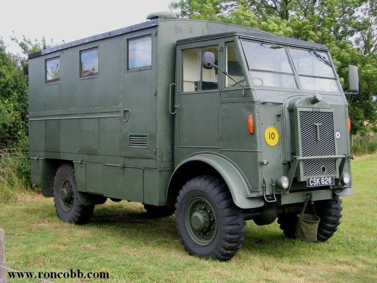 1951 Thornycroft Nubian TF/B80 - British Army