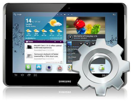 Samsung ryktas omkonfigurera hårdvaran för surfplattan Galaxy Tab 2 10.1