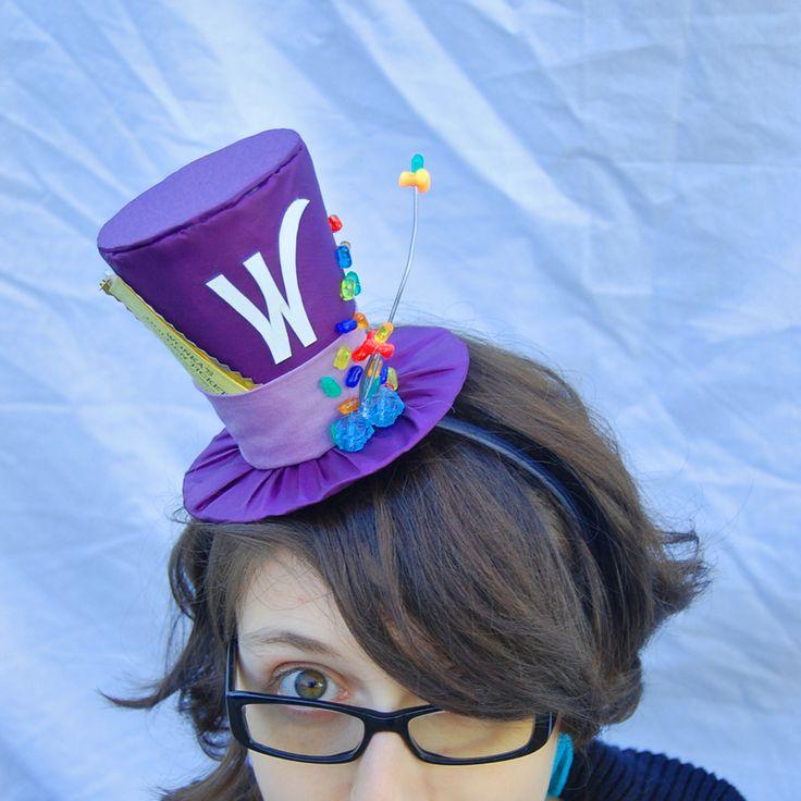 Tiny Top Hat: Willy Wonka by TinyTopHats.deviantart.com on @deviantART