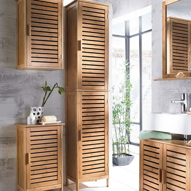 Badmöbel Aus Bambus Holz Haus Renovierung Ideen