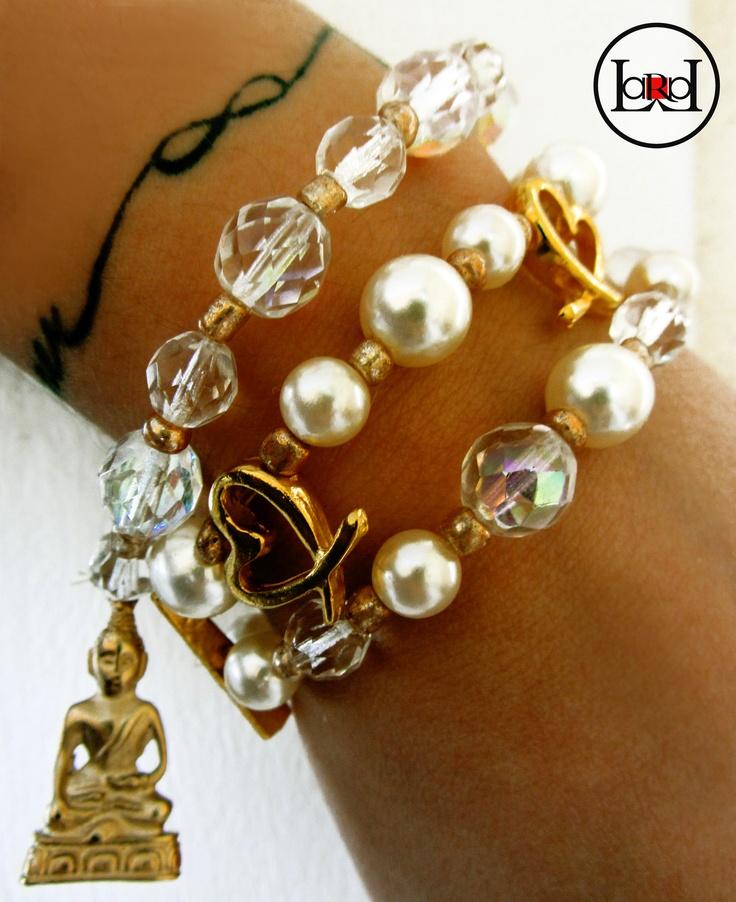 LARA ART Purl bracelets